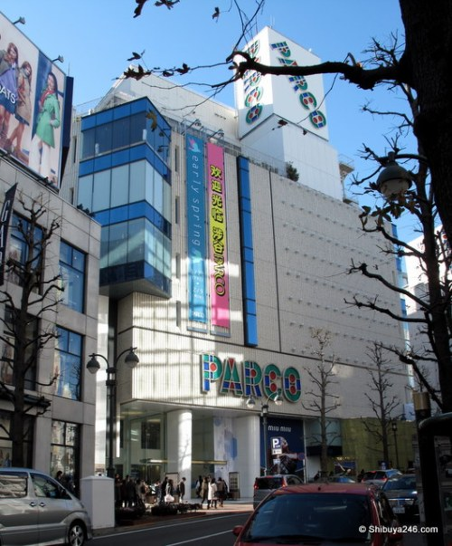 Parco department store - Koen dori