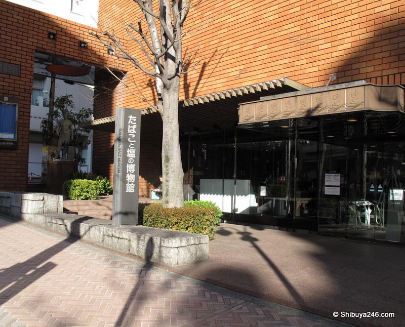 Tobacco & Salt Museum, Koen dori