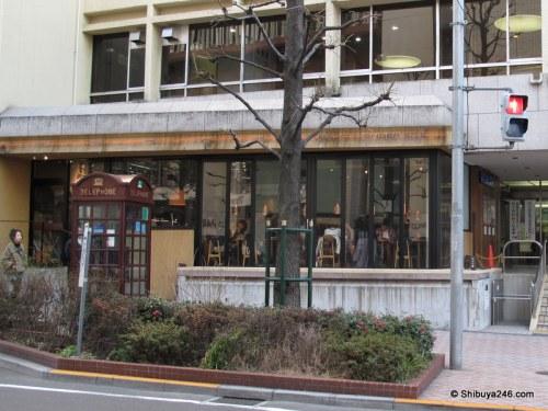 Tokyo Wonder Site cafe - Koen dori