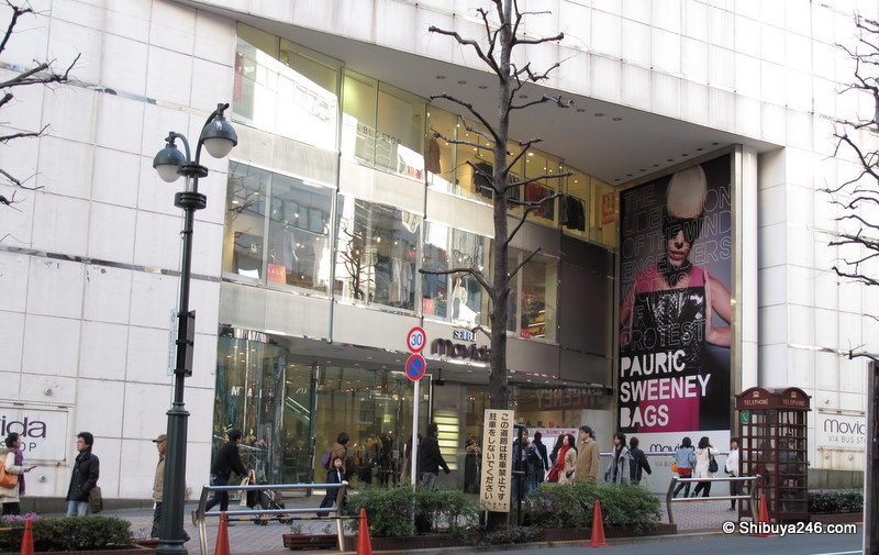 Seibu department store - koen dori